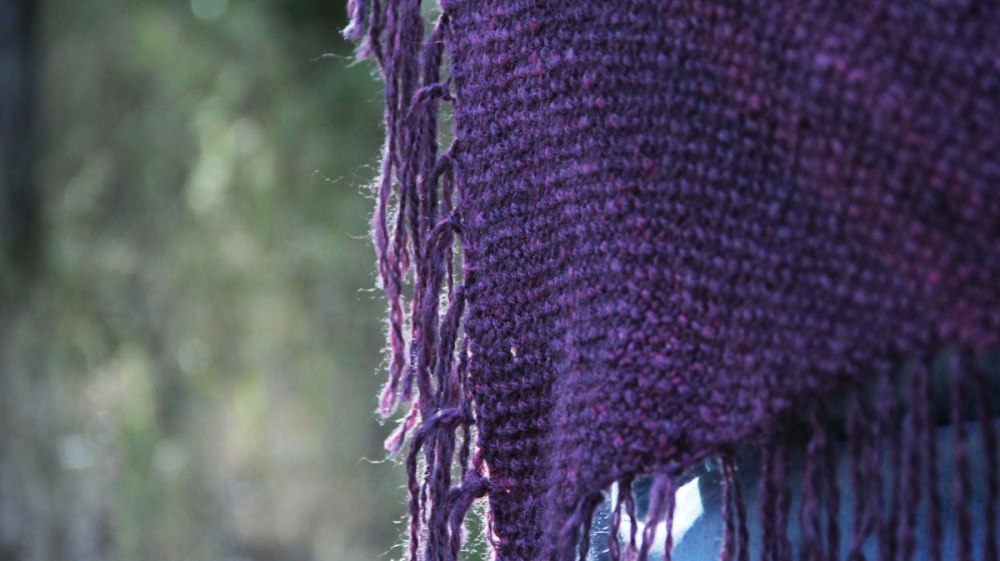 Simple seed stitch adds impressive texture.